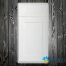 Solid Wood RTA Cabinet Sample Door, Wood Kitchen Cabinets, Color: Shaker White