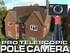 Poste Telescópico Cámara-alcance de 10m libres de inspección de techo monopie cámara inteligente PK