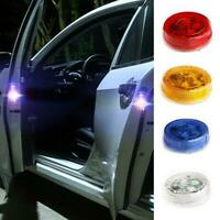 2x Car Door Opened Warning Lamp Strobe Anti-collision safety LED Light 3W