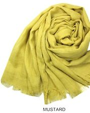Ladies Plain Summer Light weight Scarf superb quality available in 22 colours