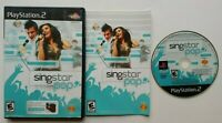 SingStar: Pop ~ PlayStation 2 PS2 - Complete Game CIB Tested & Works