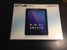 Velocity Micro Cruz T510 8GB, Wi-Fi, 9.7in - Black