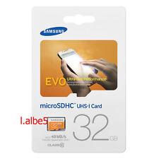 Samsung EVO 32GB 32G Micro SD SDHC 48MB/s UHS-I Class 10 Memory Card