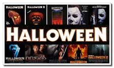 "Halloween Full Series 12""x21"" Horror Movie Mini Silk Poster Bedroom Art Print"