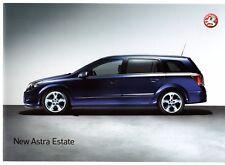 Vauxhall Astra Estate 2004 UK Market Launch 12pp Sales Brochure