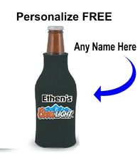 Coors Light 12oz Bottle coozy - Personalized Free, Coors Light Bottle Cooler