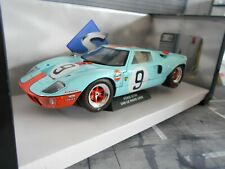 FORD GT40 GT 40 Racing Gulf Le Mans 1968 Winner #9 Bianchi Rodriguez Solido 1:18
