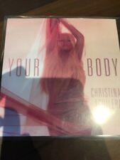Christina Aguilera - Your Body 9 Dance Remixes - Rare U.S RCA Cd Promo - Ken Loi