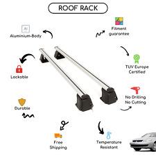 Bare Roof Rack Cross Bars Set for Mitsubishi Lancer IX Sedan 2003 - 2007
