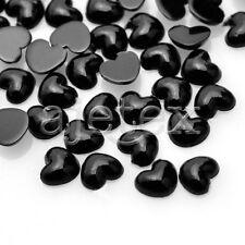 1000pcs Acrylic Crystal Flat Back Rhinestones Diamante Gems Nail Heart Flower
