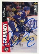 MATTHEW BARNABY SABRES AUTOGRAPH AUTO 96-97 UD COLLECTORS CHOICE #33 *31320