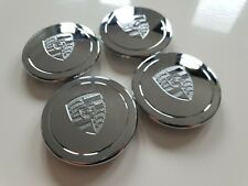 Porsche Fuchs Style center caps Chrome 5x130 Vw Foosh Split 911 912 356 Kafer...