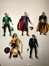 DC Direct NEW FRONTIER lot Superman Wonder Woman Dr Fate Green Lantern Blackhawk