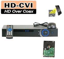 8Channel 1080P Mini 1U HD-CVI DVR (2TB HDD Installed), P2P Mobile View