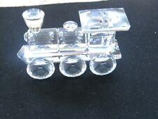 Swarovski Crystal train engine. No box