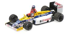 Minichamps F1 Williams FW11 Keke Rosberg riding on Nelson Piquet 1/43 German GP