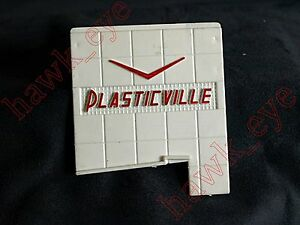 Plasticville Large Gas Station Left Upper Sign O-S Scale No Glue
