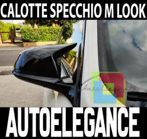 CALOTTE ADESIVE SPECCHI BMW SERIE 1 F20 F21 SPECCHIETTI RETROVISORI LUCIDO M1