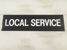 """Southdown & Sussex Bus Blind 31"""" 2- Local Service"""