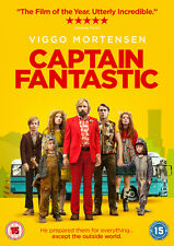 Captain Fantastic DVD 2017 Viggo Mortensen