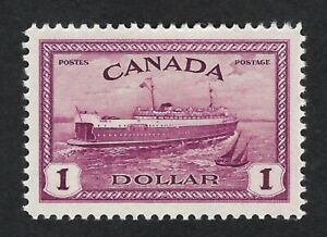 Canada 1946 Nº 273  - Ferry Prince Edward 1$ Red violet  MH