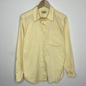 [Women's] L.L. Bean Size Medium Regular Fit Long Sleeve Button-Up Collared Shirt