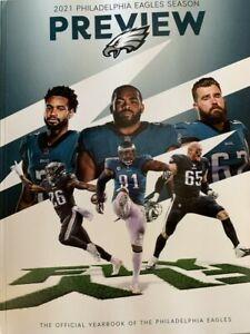 2021 PHILADELPHIA EAGLES YEARBOOK NFL FOOTBALL PROGRAM SUPER BOWL? HALL OF FAME