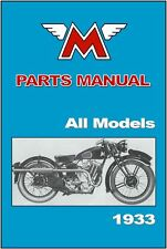 MATCHLESS Parts Manual All Models 1933 Replacement Spares Catalog List