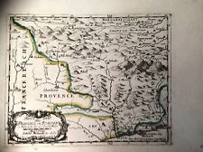 """PIEMONTE """"Reise Chart aus Provence in Italien""""G. Bodenehr 1705"""