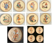 Hummel Collector Plates Annual Series, Friends Forever & Celebration Series