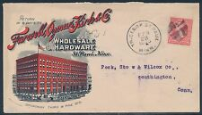 #248 ON FARWELL, OZMUN, KIRK, & Co ADVERTISING COVER FRONT & BACK BT644