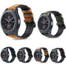 TPU Leather Band for Samsung Gear Sport S3 S2 Classic Galaxy Watch 46/42mm Strap