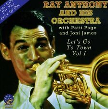 Ray Anthony, Ray Anthony & His Orchestra - Let's Go to Town [New CD]