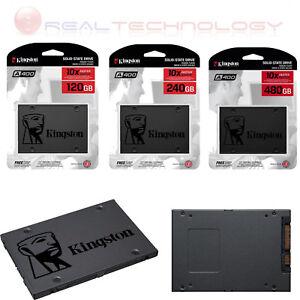 SSD INTERNO KINGSTON A400 120GB/240GB/480GB SATA3 2,5 R/W 500/320 MBS/S+CAVO