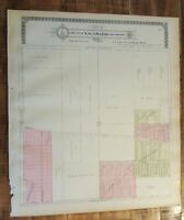 Antique MAP-PART 7 OF THE CITY OF KALAMAZOO & ENVIRONS, Michigan/Ogle & Co. 1910