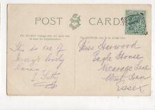 Miss Harwood Eagle House Vicarage Lane West Ham Sussex 1904 534a