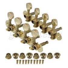 Gold 4+4 metal buttons, Mandolin Machine Heads W/ screw