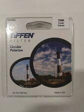 Tiffen 77mm Circular Polarizer Glass Filter #77CP
