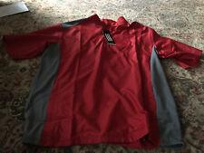 Nwt Adidas Adiclub Golf Men's Ss Windbreaker Jacket - Large
