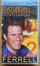 SNL The Best Of Will Ferrell  (UMD, 2006) Volume Sony PSP Brand New Sealed