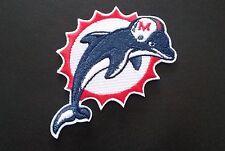 1x NFL PATCH RICAMATE Miami Dolphins ca. 8,5 x 8,5 cm