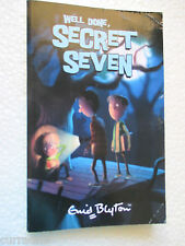 Enid Blyton  WELL DONE SECRET SEVEN  sc 2006 small paperback