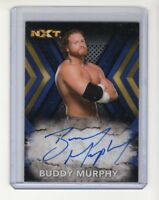 2017 Topps NXT WWE  Buddy Murphy #'d /50  Authentic On-Card Autograph