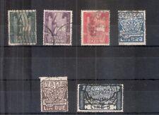 REGNO 1923 MARCIA SU ROMA Serie Completa 6 Valori Timbrati US Sassone 150 Euro