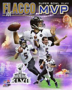 2013 Super Bowl MVP JOE FLACCO Glossy 8x10 Photo Baltimore Ravens Print Poster