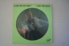 "DEVO - Are we not men? Picture-LP 1978 (Vinyl)+Bonus Folien Single ""Flimsy Wrap"