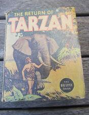 THE RETURN OF TARZAN  Big Little Book  1102 from 1936 EDGAR RICE BURROUGHS