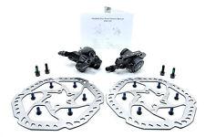 Promax Mechanical Disc Brake Caliper Set Front&Rear, w/ 160mm Rotors