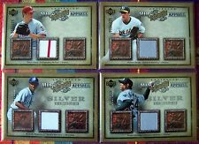 2006 Artifacts Baseball Game-Used Jersey Card Lot! 7 Cards! NM-MT! BV $68