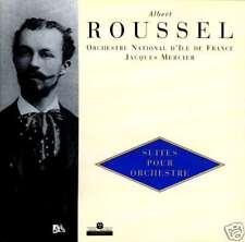 ALBERT ROUSSEL  suites pour orchestre  JACQUES MERCIER